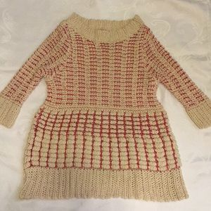 Lady's Anthropologie popcorn knit sweater